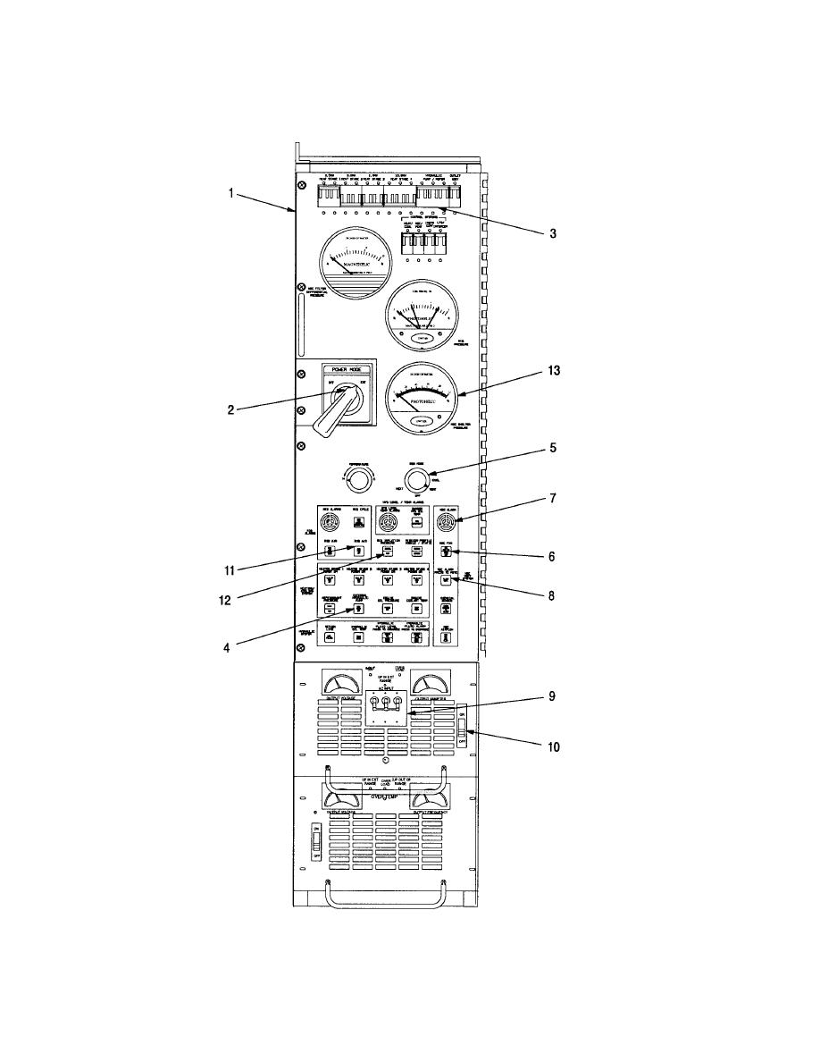 Figure 2-26. Rear Control Panel Settings Using External Power ...