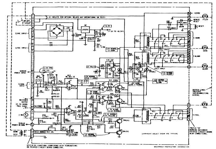 figure 1 830 printed circuit board schematic diagram