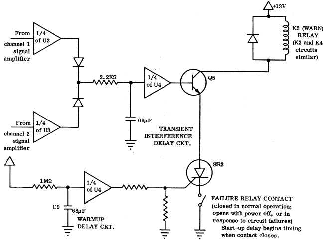 figure 1 11 time delay circuit cd802 832 schematic diagram rh chemical biological tpub com delay relay circuit diagram time delay relay circuit diagram